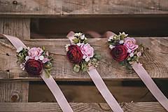 Náramky - Kvetinový náramok - 12211713_