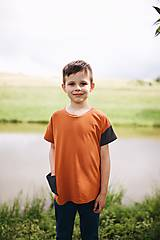 Detské oblečenie - Tričko HUGO - 12210470_