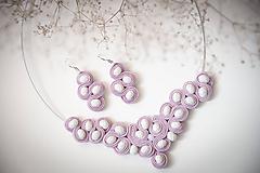 Sady šperkov - Staroružová sada - šujtášový set - 12208844_