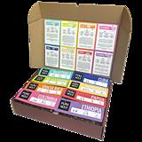 Potraviny - Degustačný set zrnkových odrodových káv 8x100g - 12208670_