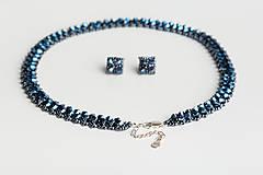 Sady šperkov - súprava Swarovski - collar - 12209044_