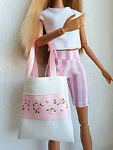 Hračky - Koženková kabelka pre Barbie - 12211433_