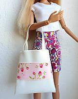 Hračky - Koženková kabelka pre Barbie - 12211437_