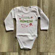 Detské oblečenie - Maminkina princezná - detské body - 12210303_