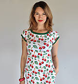 Šaty - Šaty Cherry LL - 12208858_
