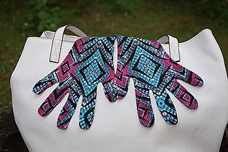 Rukavice - Jemné úpletové rukavičky - 12210994_