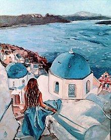 Obrazy - Santorini - 12214240_