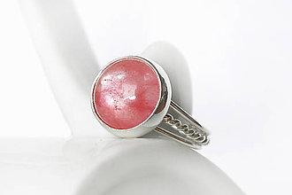 Prstene - prsteň s čerešňovým očkom v.51 / Ag 925 - 12214211_