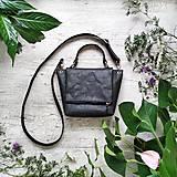 Kabelky - Kabelka SWEET BAG - čierna s matným leskom - 12213178_