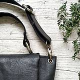 Kabelky - Kabelka SWEET BAG - čierna s matným leskom - 12213180_