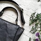 Kabelky - Kabelka SWEET BAG - čierna s matným leskom - 12213182_