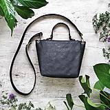 Kabelky - Kabelka SWEET BAG - čierna s matným leskom - 12213184_