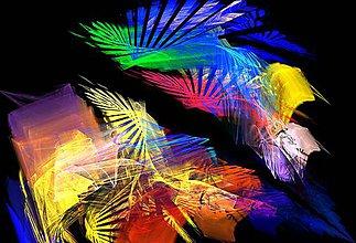 Obrazy - Abstraktný obraz - 12214264_