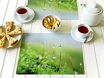 Dekorácie - Sada: Obraz + prostírání - Vůně lesa - 12211894_
