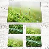 Dekorácie - Sada: Obraz + prostírání - Vůně lesa - 12211897_