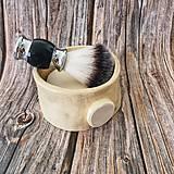Drogéria - Keramická miska na mydlo na holenie, 11 cm - 12211997_