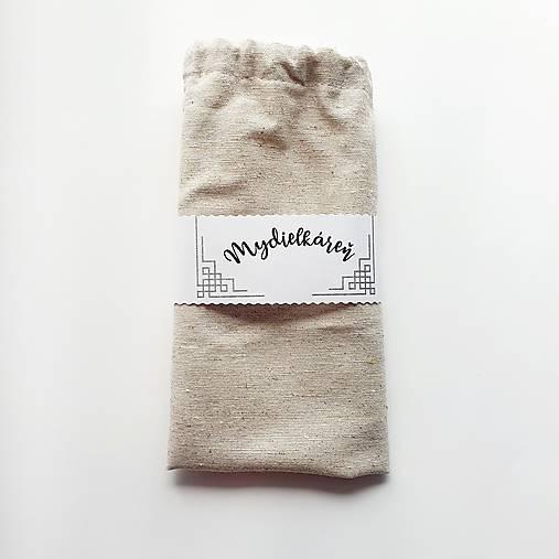 Bavlnené / ľanové vrecko na mydlo
