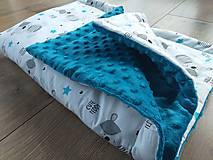 "Textil - Minky deka ""Cute Teddy"" - 100x70cm - 12211735_"