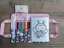 """Detské tašky - Pastelkovník """"Ružový jednorožec"""" - 12211742_"""