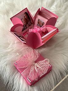 Nezaradené - Explosion gift box/Darčeková krabička - Narodeniny - 12212870_