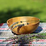 Nádoby - Miska z čerešňového dreva - 12213929_