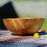 Nádoby - Miska z čerešňového dreva - 12213930_