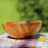Nádoby - Miska z čerešňového dreva - 12213931_