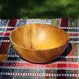 Nádoby - Miska z čerešňového dreva - 12213932_