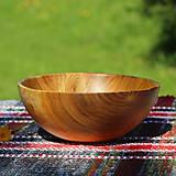 Nádoby - Miska z čerešňového dreva - 12213933_