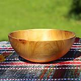 Nádoby - Miska z čerešňového dreva - 12213935_