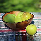 Nádoby - Miska zo starej jablone - 12213944_