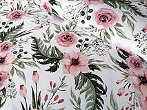 Textil - Teplákovina In the Garden - 12215134_