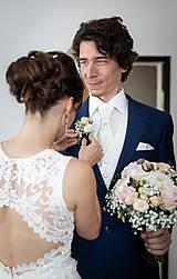 Šaty - Danica, hodvábne svadobné šaty - 12217343_