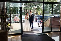 Šaty - Danica, hodvábne svadobné šaty - 12217346_