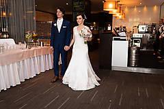 Šaty - Danica, hodvábne svadobné šaty - 12217347_