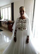 Šaty - Romantika Dominika, svadobné šaty - 12217447_