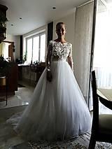 Šaty - Romantika Dominika, svadobné šaty - 12217448_