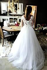 Šaty - Romantika Dominika, svadobné šaty - 12217450_