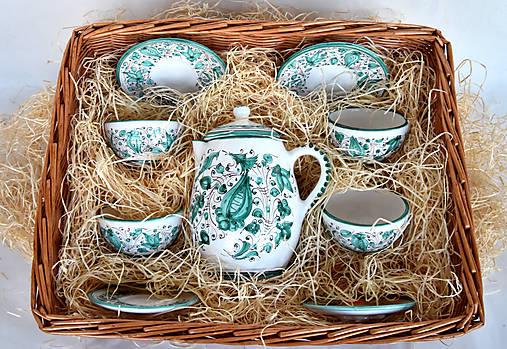 Praktická sada 1: Zelená čajová súprava