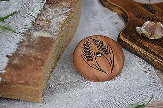 Pomôcky - Okrúhle narezávatko na chlieb (hruška II.) - 12214932_
