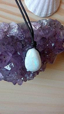 Náhrdelníky - Mesačný kameň - prívesok - 12216355_