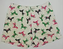 Detské oblečenie - Žrebce chlapčenské trenky biobavlna - 12215634_