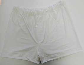 Detské oblečenie - Biele chlapčenské trenky bambus 2 ks - 12215197_