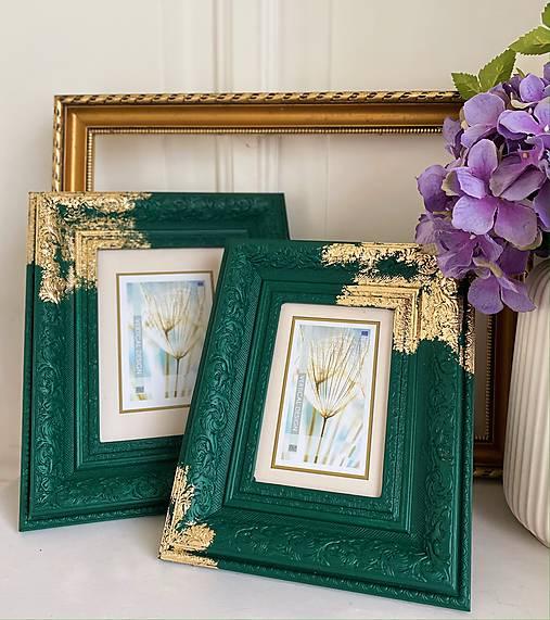 Set rámikov na fotografie Emerald beauty
