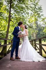 Šaty - Danica, hodvábne svadobné šaty - 12217340_