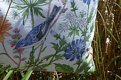 Úžitkový textil - Vankúš Lúčne kvety - 12217892_