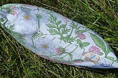 Úžitkový textil - Vankúš Lúčne kvety - 12217894_