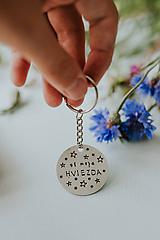 Kľúčenky - Prívesok na kľúče Si moja hviezda - 12219026_