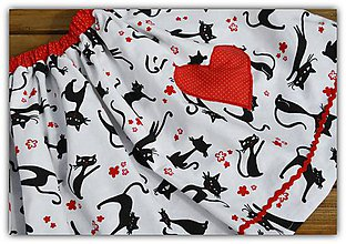 Detské oblečenie - Suknička s pískacím srdiečkom - 12219035_