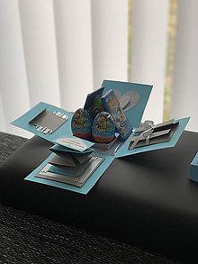Nezaradené - Explosion gift box/Darčeková krabička - Narodeniny - 12218433_
